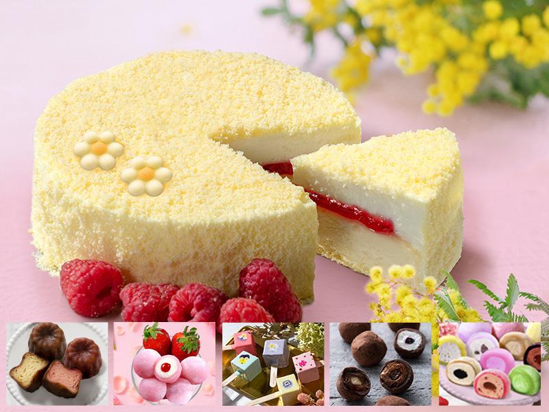 フロマージュ&ピンクのモチショコラ