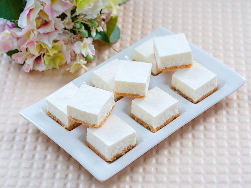 低糖質レアチーズケーキキューブ