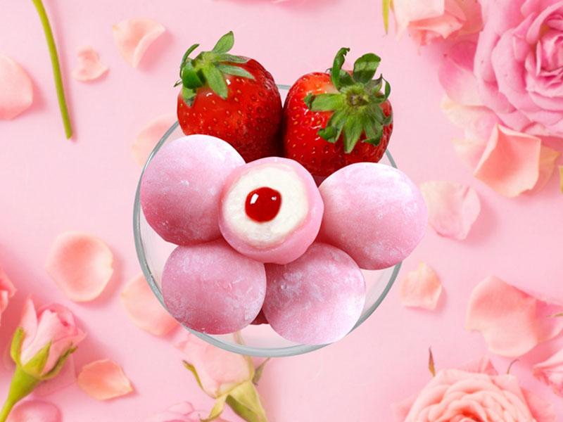 ピンクのモチショコラ